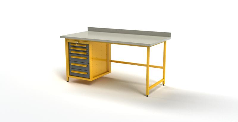 Biurko warsztatowe BR1552001
