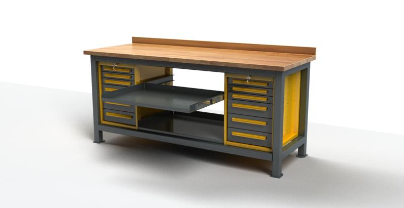 Stół warsztatowy C3012