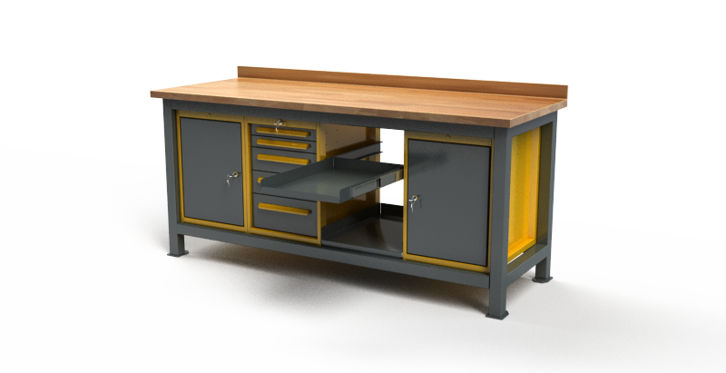 Stół warsztatowy C3015