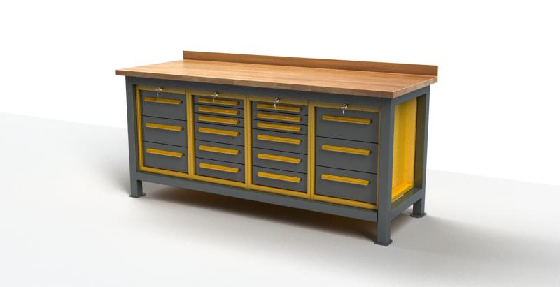 Stół warsztatowy C3017