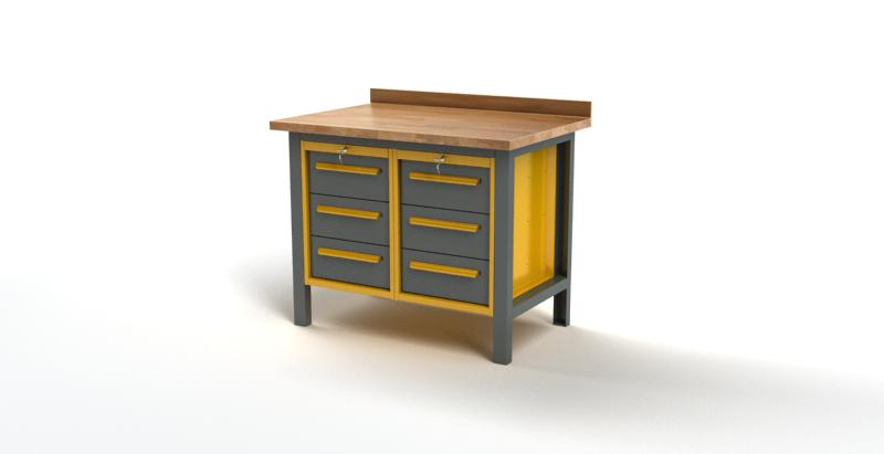 Stół warsztatowy S1012