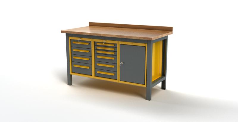 Stół warsztatowy S2017