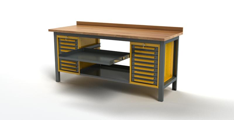 Stół warsztatowy S3022