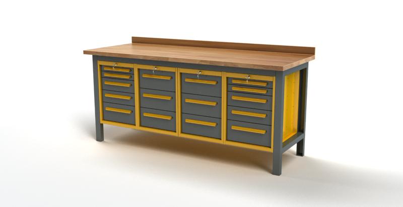 Stół warsztatowy S3037