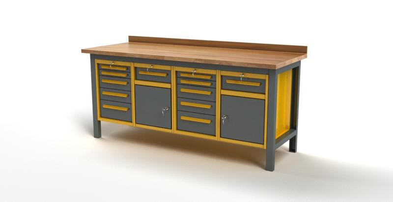 Stół warsztatowy S3038
