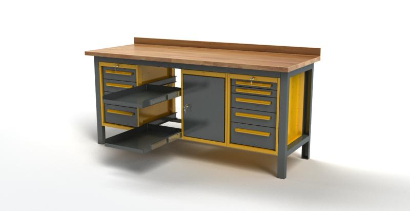 Stół warsztatowy S3042