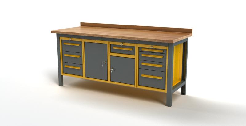 Stół warsztatowy S3045