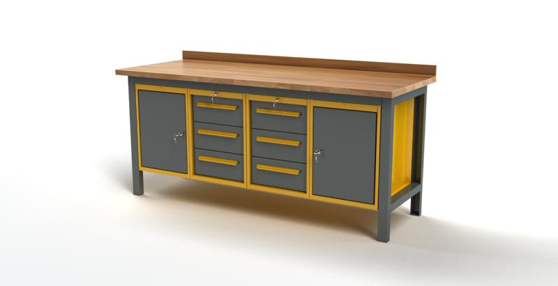 Stół warsztatowy S3049