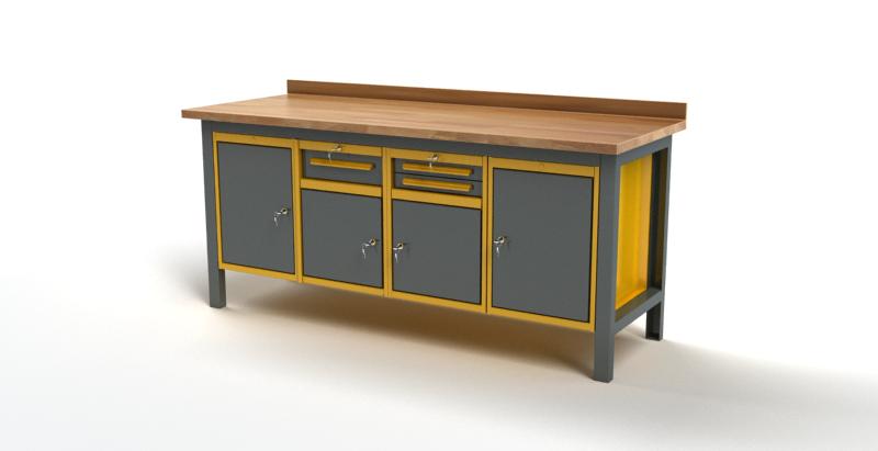 Stół warsztatowy S3051