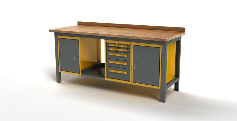 Stół warsztatowy S3053