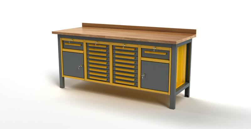 Stół warsztatowy S3054