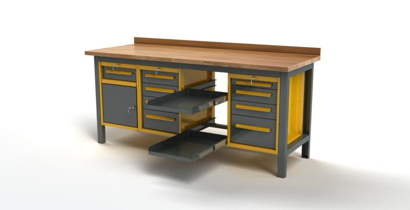 Stół warsztatowy S3055