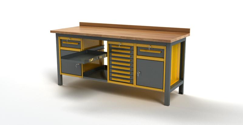 Stół warsztatowy S3056