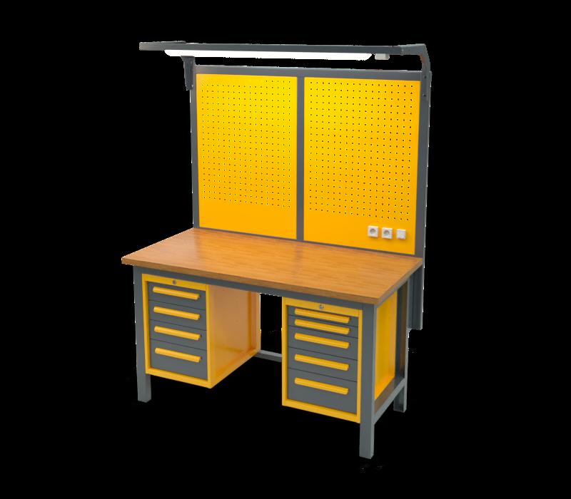 Stół warsztatowy znadbudową S2027_NS203