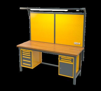 Stół warsztatowy znadbudową S3058_NS303