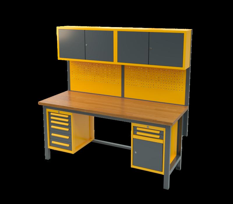 Stół warsztatowy znadbudową S3058_NS302